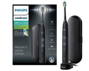 Philips Sonicare ProtectiveClean 4500 elektrische Zahnbürste HX6830/53,Schwarz