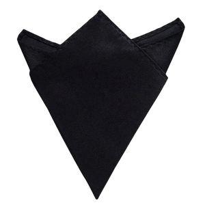 Oblique Unique Einstecktuch Kavalierstuch Stecktuch Business Hochzeit - schwarz