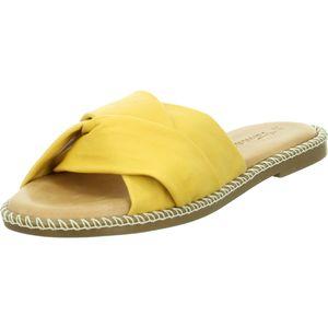 Tamaris Pantoletten Gelb Damen