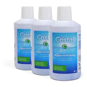 CRISTAL Algenverhütung 3x 1,0 l