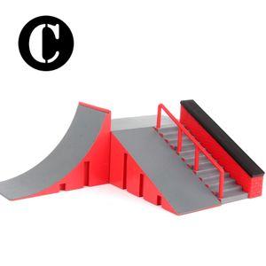 Skate Parks Kit Rampenteile für Finger Skateboard Griffboard Ramp Skate Parks