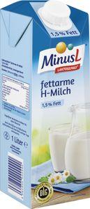 Minus L Haltbare Milch 1,5% Fett 1L