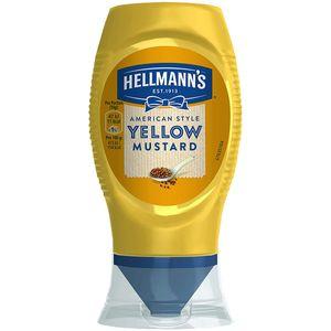Hellmanns American Style Yellow Mustard Senf mild würzig 250ml