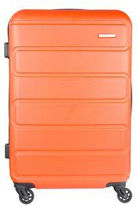 NOWI Hartschalenkoffer Orange 65 cm 4-Rollen Zahlenschloss