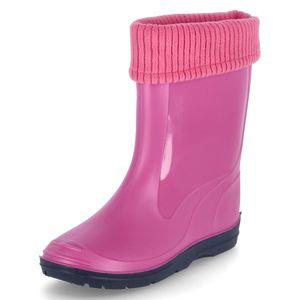 BECK Gummistiefel BASIC Pink Mädchen