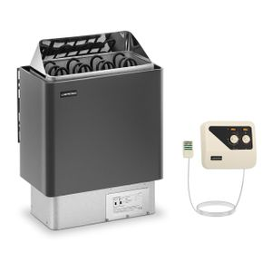 Uniprodo Set Saunaofen mit Saunasteuerung - 6 kW - 30 bis 110 °C