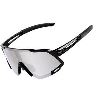 MidGard Fahrradbrille Sportbrille e-Bike Brille selbsttönend  Schwarz