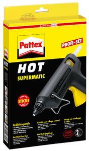 Pattex Heißklebepistole HOT SUPERMATIC schwarz/gelb