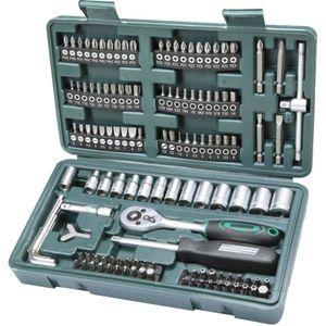 Brüder Mannesmann 130-teiliges Bit und Steckschlüssel-Set 29166