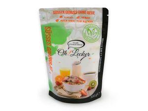 Oh! Lecker Stevia Streusüße, kalorienfrei, 300 g / Beutel