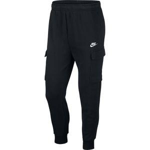 Nike M Nsw Club Pant Cargo Bb - black/black/white, Größe:M