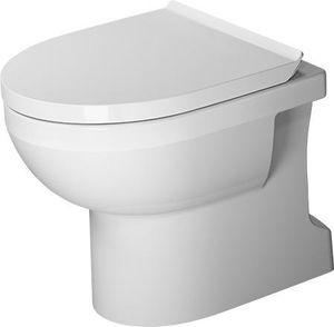 Duravit Stand-WC BASIC RIMLESS DURASTYLE tief, 365 x 560 mm, Abgang senkrecht weiß