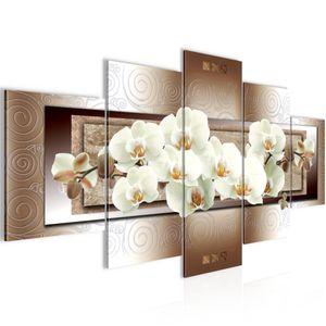 Blumen Orchidee BILD :150x100 cm − FOTOGRAFIE AUF VLIES LEINWANDBILD XXL DEKORATION WANDBILDER MODERN KUNSTDRUCK MEHRTEILIG 205453c