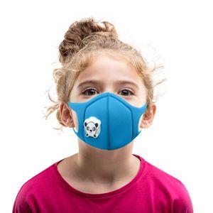 Kinder mit atmender atmungsaktiver waschbarer Doppeldeck-Schwammmaske