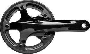 Shimano Alfine FC-S501 Kurbelgarnitur 39 Zähne mit Kettenschutz Außen + Innen Kurbelarmlänge 170mm