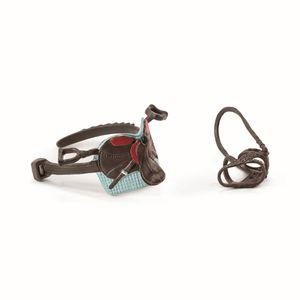Schleich® 42489 Sattel & Zaumzeug Horse Club Hannah & Cayenne