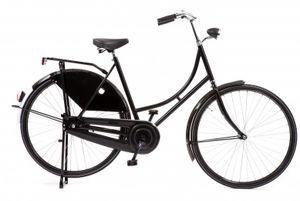 Avalon Hollandräder Damen Omafiets Export 28 Zoll 50 cm Frau Rücktrittbremse Schwarz