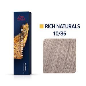 Wella Professionals Koleston Perfect Me+ Rich Naturals Professionelle permanente Haarfarbe 10/86 60 ml