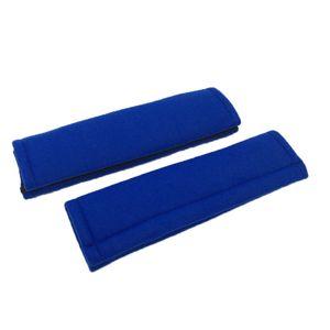 2er Set Sicherheitsgurt Gurtpolster Auto Gurtschoner Autogurt Sanft Gurtschutz, Blau