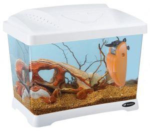 aquarium Capri Junior 41 x 34 cm 21 Liter weiß 3-teilig