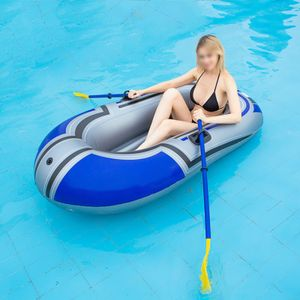 Schlauchboot Serie, dickes Schlauchboot Kajak, Fischerboot Kajak, Einzelperson Wasserspiel Outdoor Freizeitreise Fischerboot 150cm (Ruder nicht enthalten)