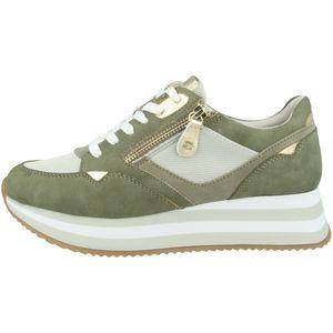 Tamaris Damen Sneaker Schnürschuhe 1-23742-26, Größe:39 EU, Farbe:Grün