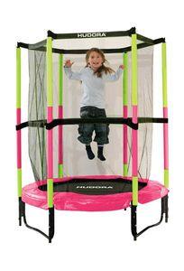 Hudora Trampolin Sicherheitstrampolin Jump In 140 rosa