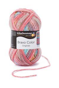 Schachenmayr Bravo Color, 9801421-02120, Farbe:Clown, Handstrickgarne