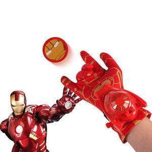 Marvel Iron Man Captain America Spider-Man-Handschuhe für Kinder Wrist Launcher//Iron Man Handschuhe