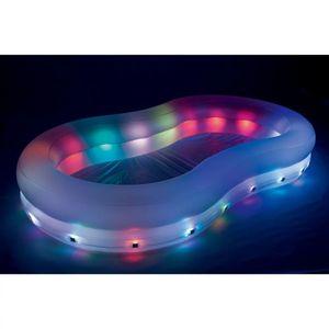 Bestway LED-Spielbecken Welle 280x157x46 cm 54135