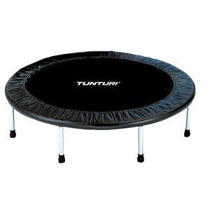 Mini-Trampolin für Indoor, Fitnesstrampolin in 95 cm oder 125 cm, Trampolin für Sport und Ausdauer, cm:95