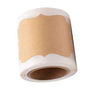 300 Stück Blanko Geschenkanhänger Kraftpapier Etiketten Hochzeit Papieranhänger Hängeetiketten