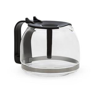Klarstein Grande Gusto Kaffeekanne mit Deckel  ,  Ersatzteil Zubehör  ,  Volumen: 1,3 Liter / bis 8 Tassen  ,  Material: Glas  ,  BPA-frei