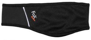 Fox Outdoor Softshell Stirnband für Damen und Herren wasser- und winddicht, Farbe:Schwarz, Grösse:S/M