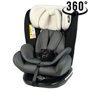 Tweety Mandara Kindersitz mit 360 Grad drehbarem Isofix-System-Crocodile 0, 36 kg, schwarze Basis
