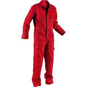 Kübler Overall rot 100% Baumwolle Gr. 50