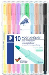 "STAEDTLER Textmarker ""triplus highlighter"" 10er Etui"