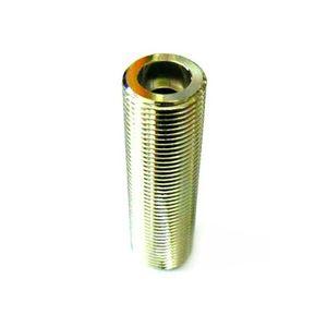 Schankhahnstutzen einseitig Einstich, NW 7mm - 5/8' Gewinde, 55mm CNS