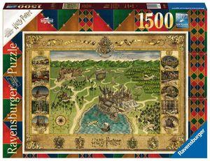 Hogwarts Karte Ravensburger 16599