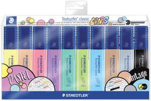 "STAEDTLER Textmarker ""Textsurfer classic COLORS"" 10er Etui"