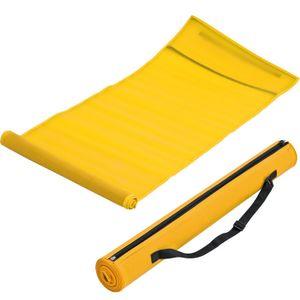 Strandmatte / Größe: 180 x 60 cm / Farbe: gelb