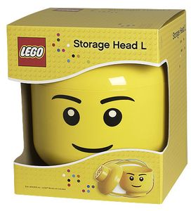 LEGO Lizenzkollektion 4032- Aufbewahrungskopf, L, groß, Junge
