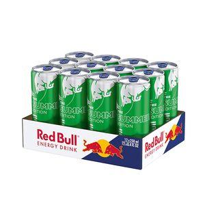 Red Bull Energy Drink Summer Edition Kaktusfrucht 250 ml (12 Dosen) EINWEGPFAND 3.00 € im Preis enthalten