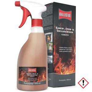 Ballistol Kamofix Pumpsprüher Ofenreiniger und Kaminreiniger 600 ml