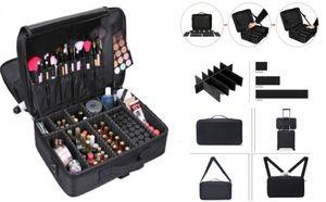 Make-up Make-up Friseur Koffer Kosmetik - Nagel Techniker - Make-up Koffer Beauty Case Groo