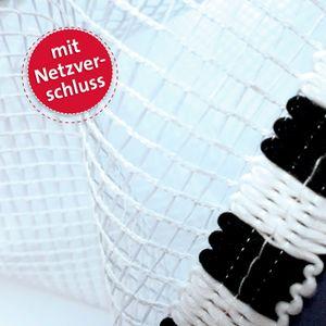 Schultüte groß Fußball-Star mit Sound 85 cm - 6-eckig Rot(h)-Spitze Netzverschluss - Zuckertüte
