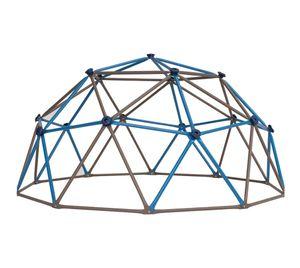 Lifetime Klettergerüst 2,7x1,4 m Geodome braun blau Kindergerüst Gerüst Spielzeuggerüst