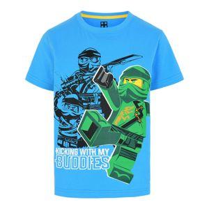LEGO® Wear NINJAGO Jungen T-Shirt , Größe:104, Präzise Farbe:Blau