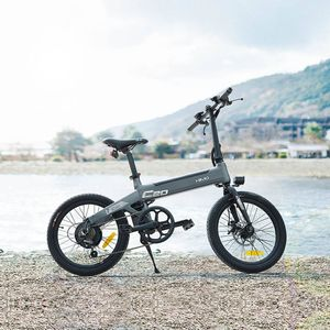 "Xiaomi HIMO C20 250W 20""Elektrofahrrad Mountainbike 36V 10AH E-Bike 3 Fahrmodi Faltbar elektrisches Fahrrad 25 km/h--Grau"