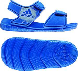 adidas Kinder Wassersandale AltaSwim g I Badesandale Wasserschuhe BA9281 Blau, Größe:EUR 24 / UK 7K / 14 cm, Farbe:Blautöne
